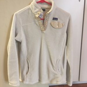 Patagonia White Sweater